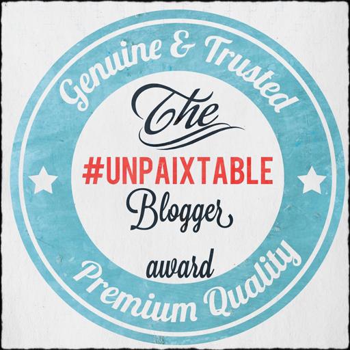 unpaixtable-blogger-award