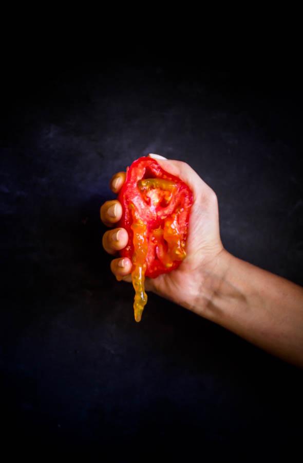 pasta tomatoes feta basil 5