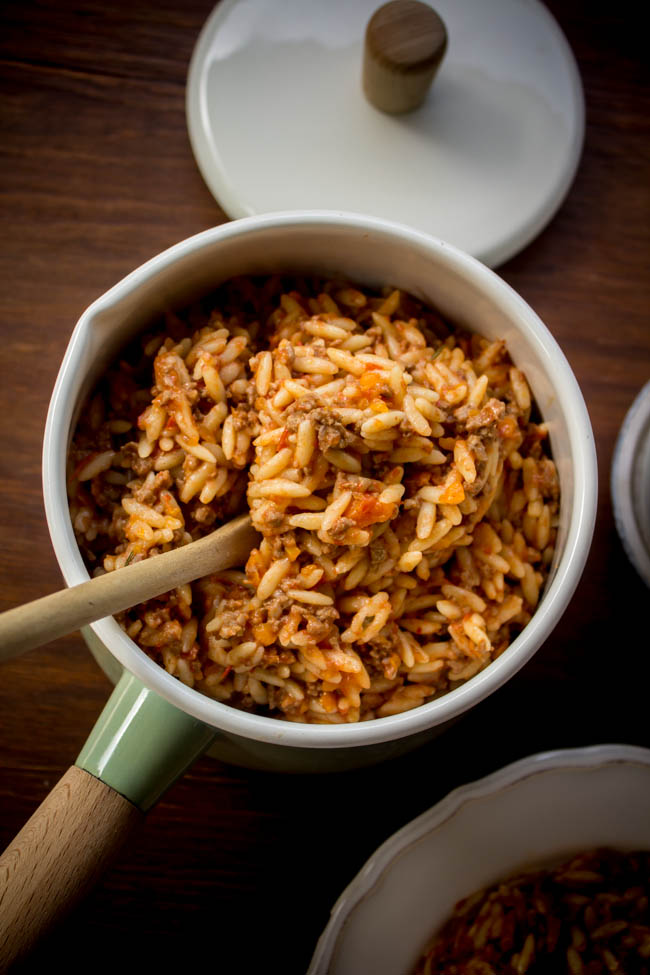 orzo-with-minced-beef-sauce-3