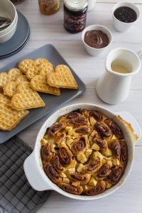 cinammon rolls breakfast bake 1