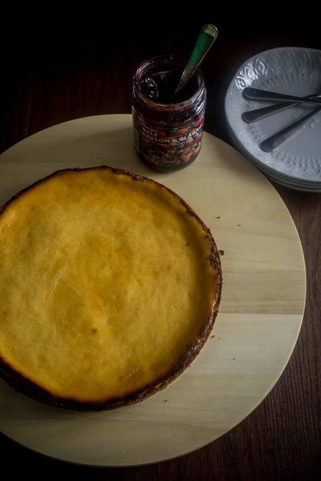 lemon curd baked cheesecake 12