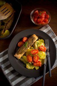 salmon potatoes fennel tray 1