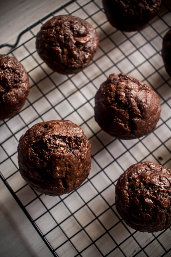 banana chocolate yoghurt muffins 1