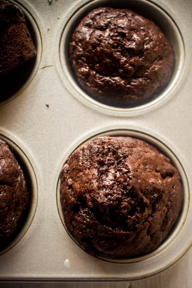 banana chocolate yoghurt muffins 6