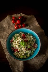cauliflower rice tabouleh 1