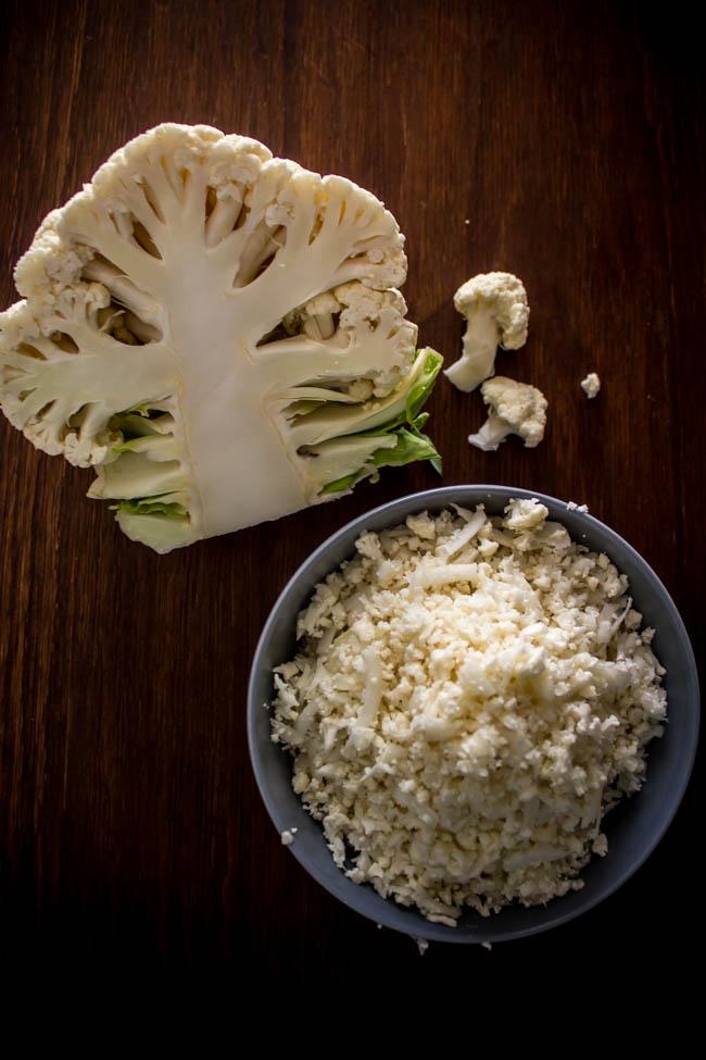cauliflower rice tabouleh 4