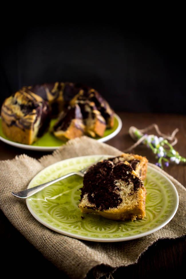 lenten marbled cake 2