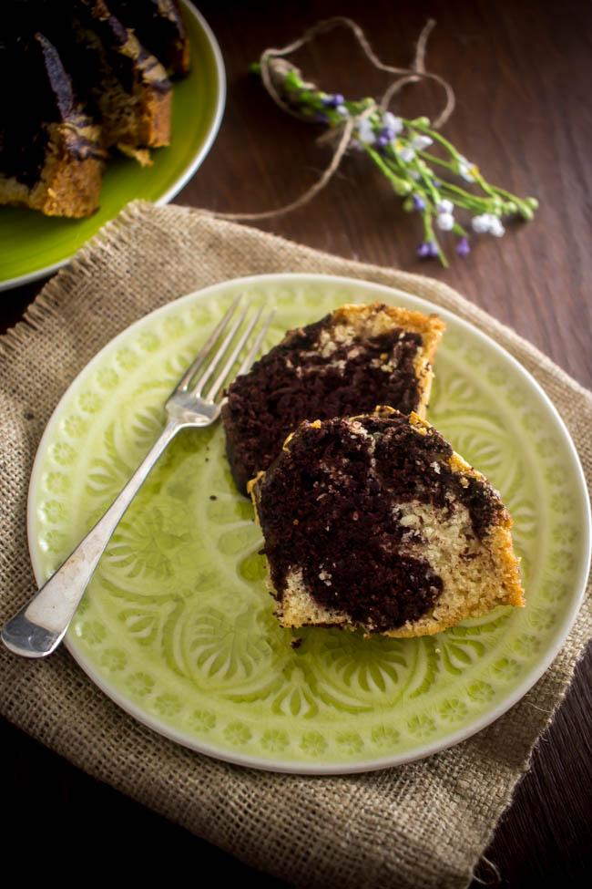 lenten marbled cake 4
