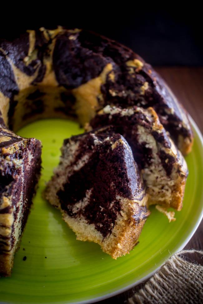 lenten marbled cake 5