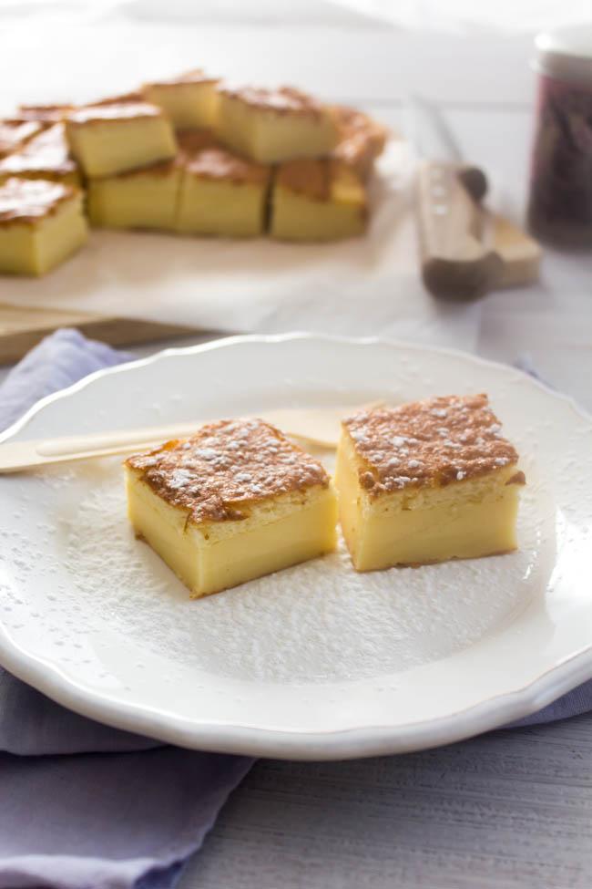 magic custard cake 1