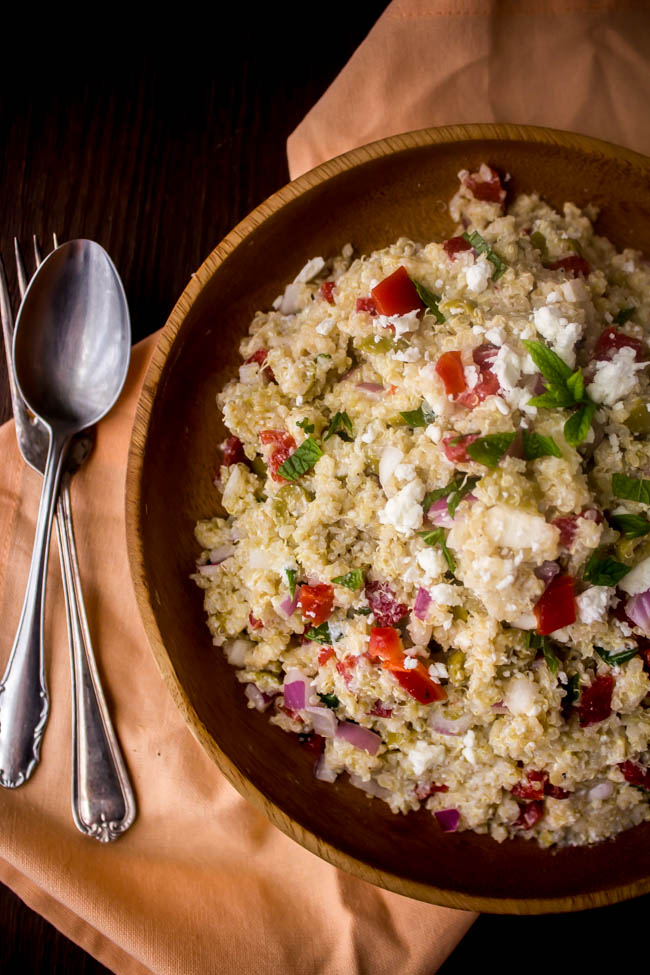 summer quinoa salad 1