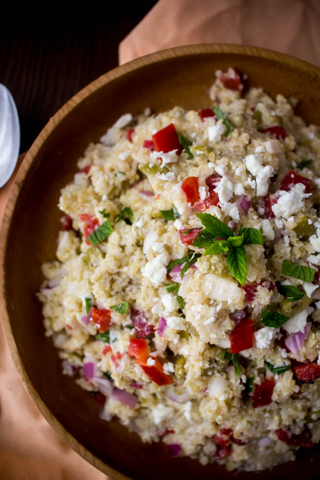 summer quinoa salad 6