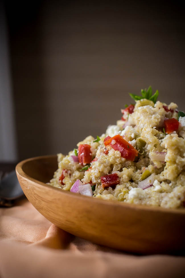 summer quinoa salad 8