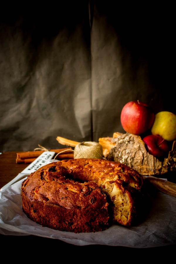 apple raisin cake 1