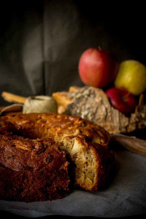 apple raisin cake 2