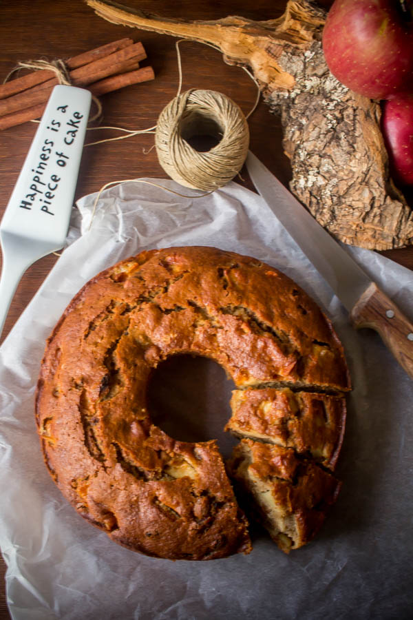 apple raisin cake 3