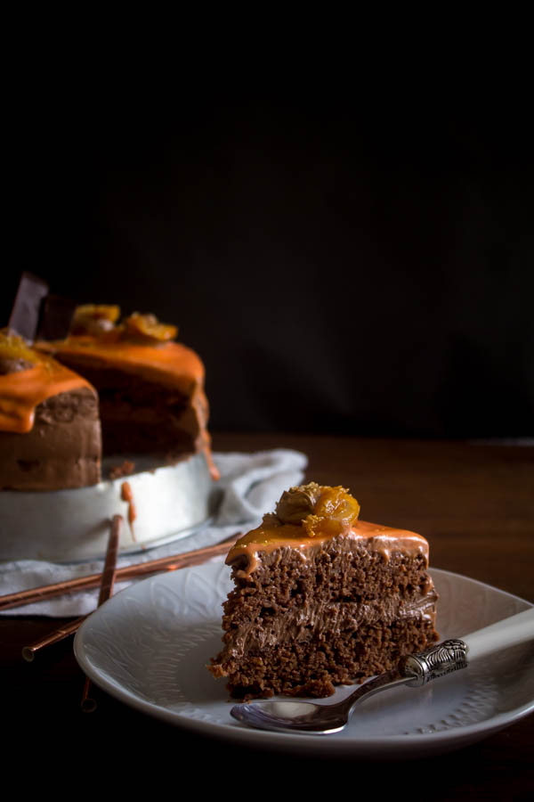 orange chocolate cake 4