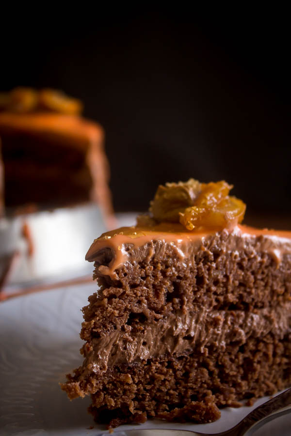 orange chocolate cake 5
