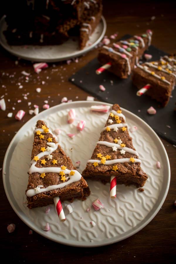 mint chocolate brownies 2