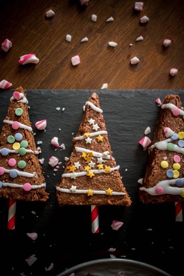mint chocolate brownies 4