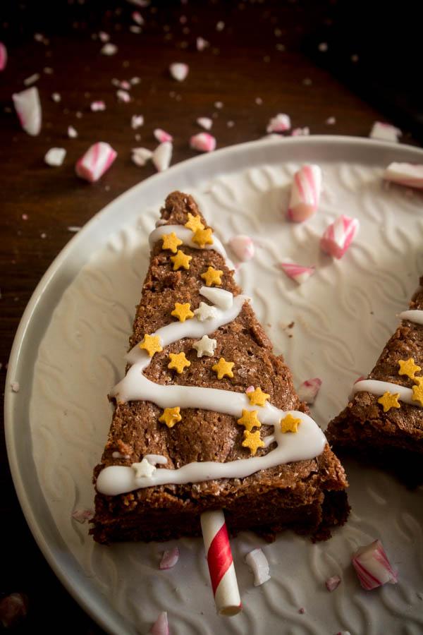 mint chocolate brownies 6