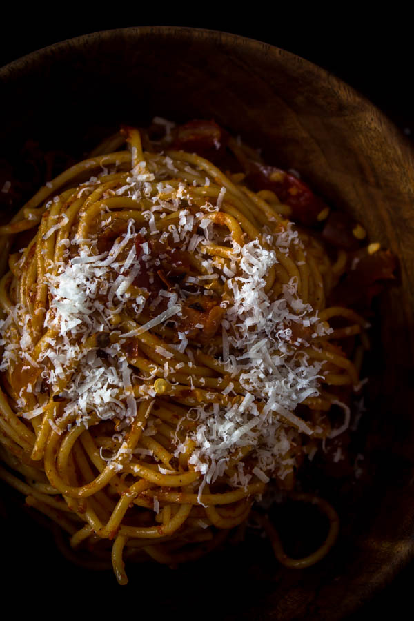 spaghetti all' amatriciana 3