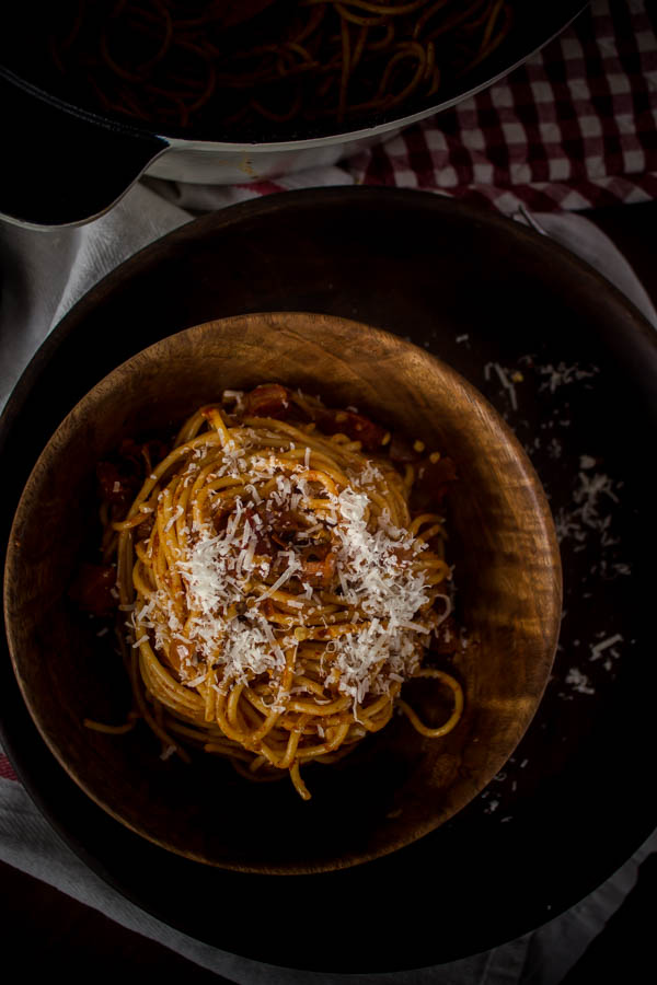 spaghetti all' amatriciana 4