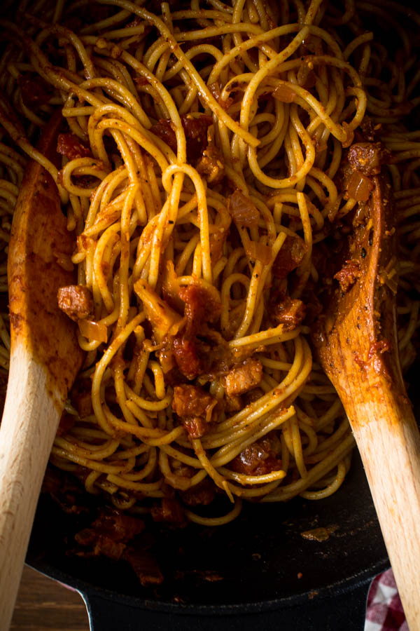 spaghetti all' amatriciana 5