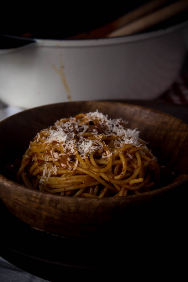 spaghetti all' amatriciana 6
