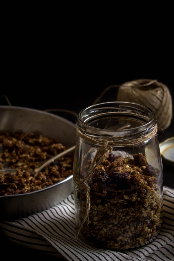 coconut almond granola 3