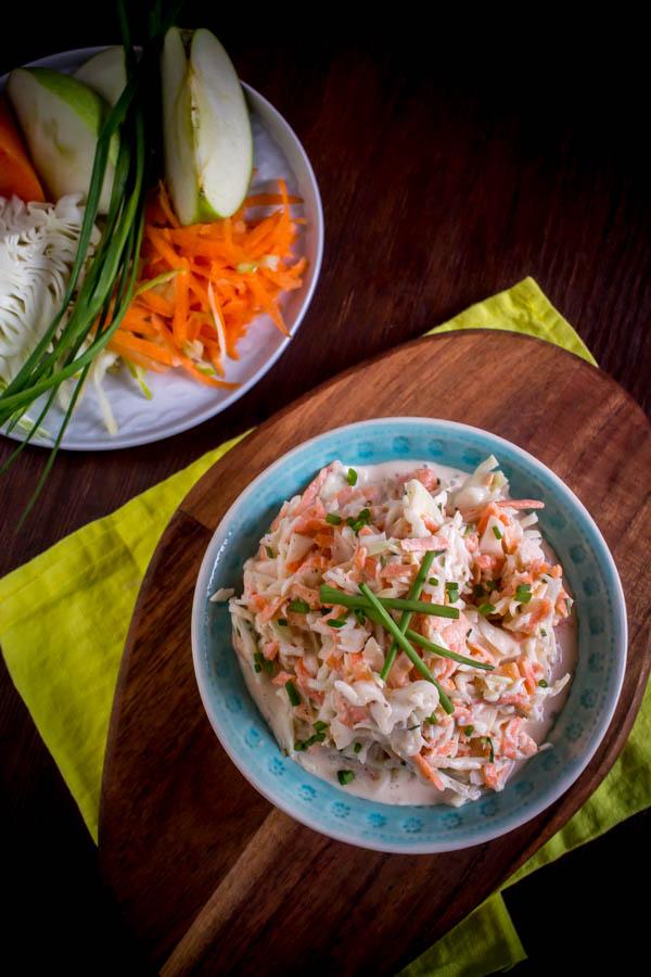 lighter coleslaw 2