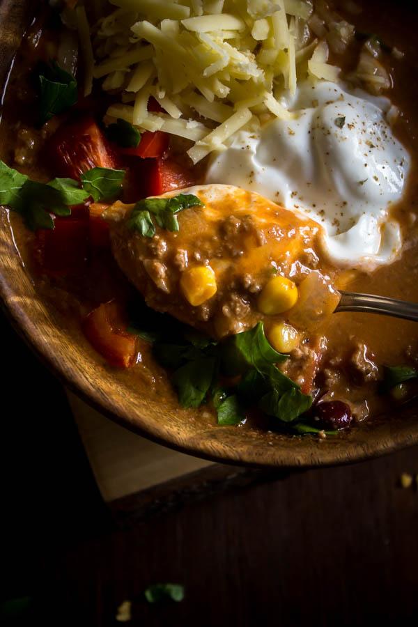 taco soup 5