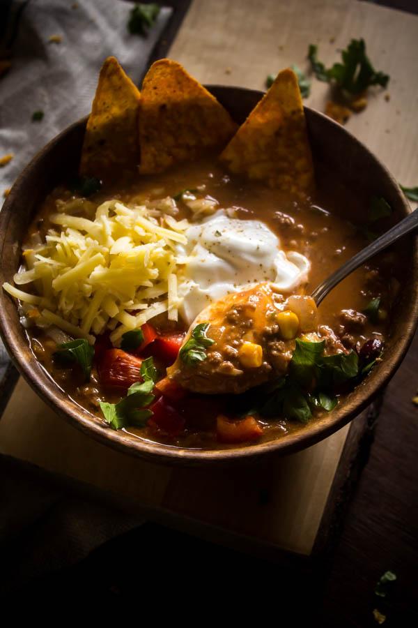 taco soup 6