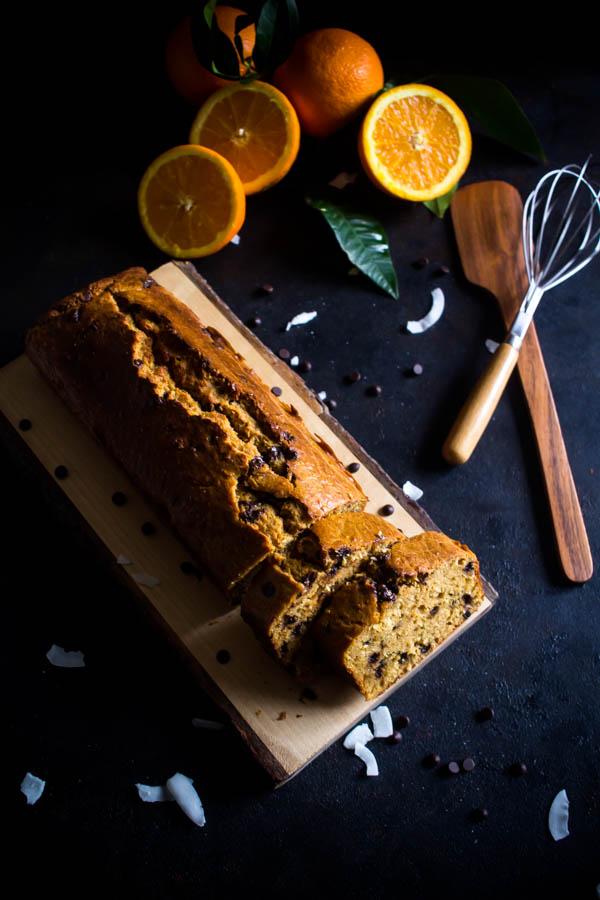 orange coconut chocolate cake 2