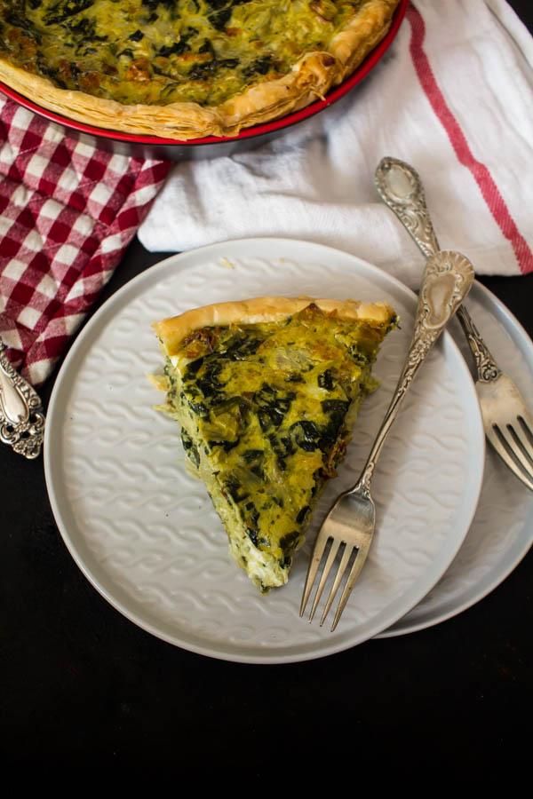 spinach artichoke quiche 4