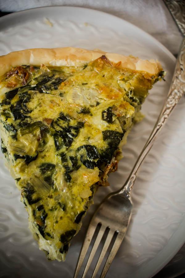 spinach artichoke quiche 5