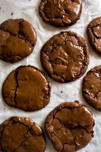 flourless chocolate cookies 1