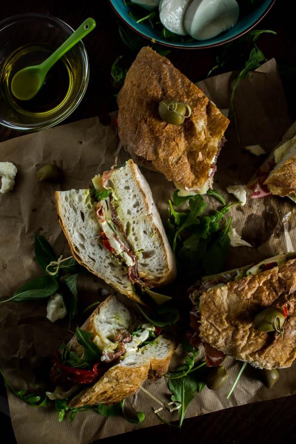 italian sandwich for a crowd 1