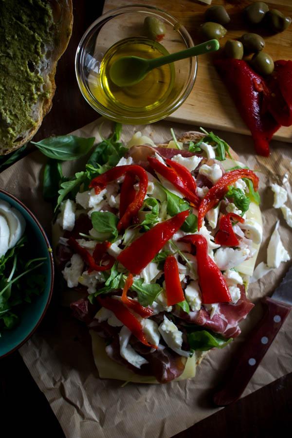 italian sandwich for a crowd 12