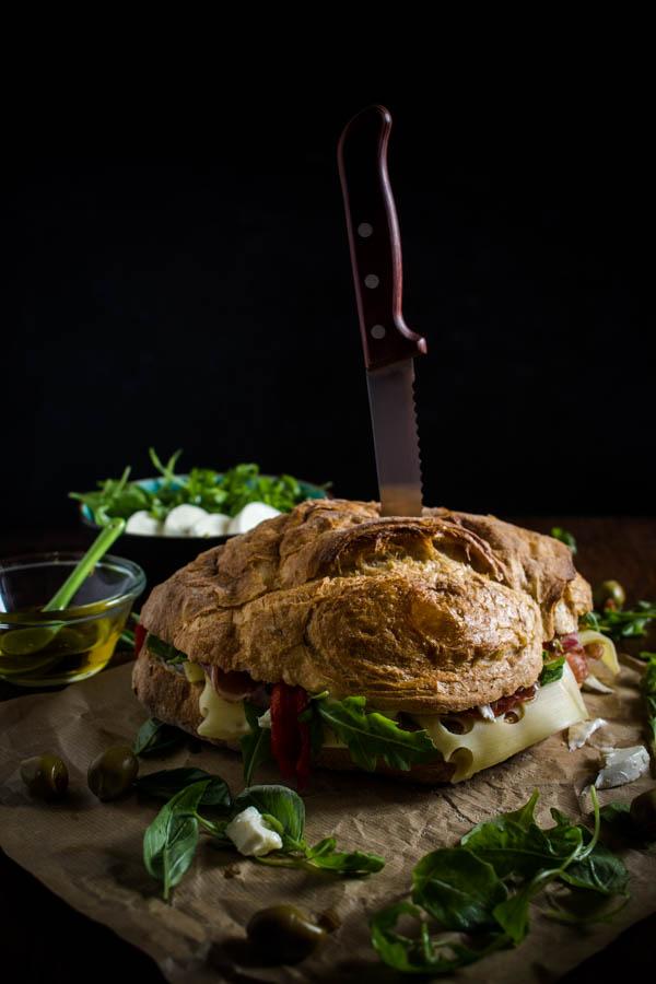 italian sandwich for a crowd 2