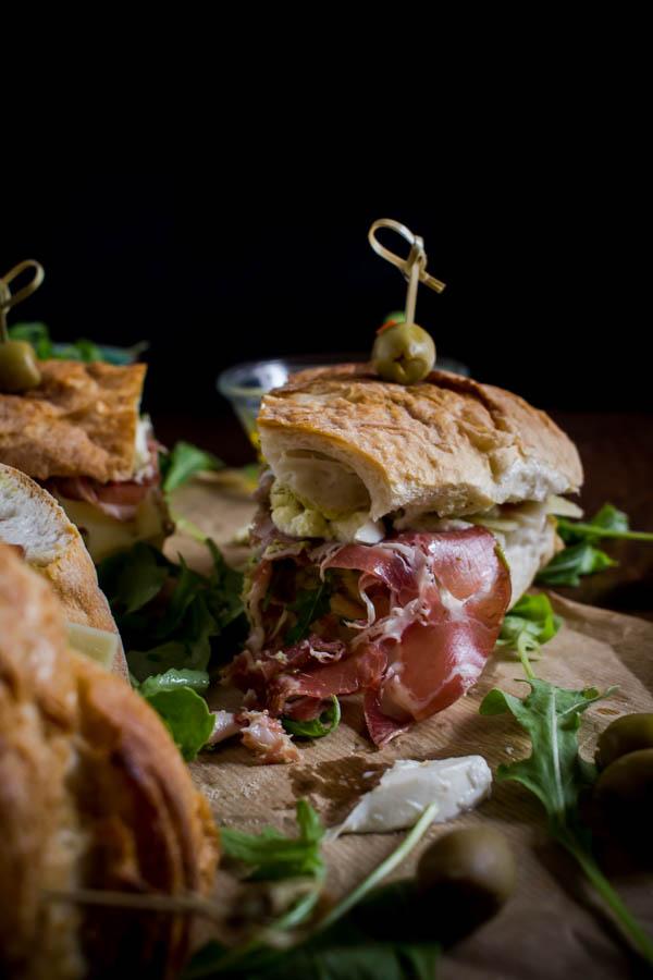 italian sandwich for a crowd 4