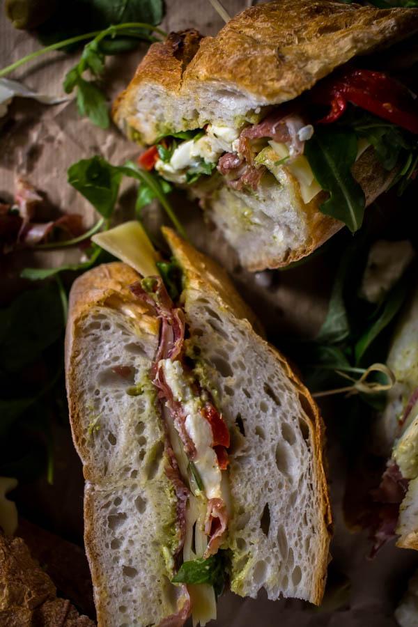 italian sandwich for a crowd 5