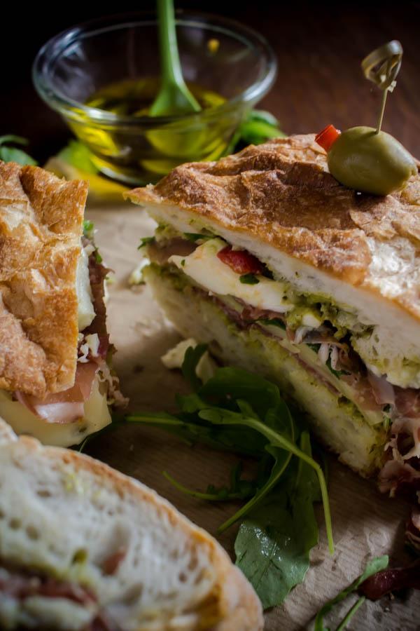 italian sandwich for a crowd 6