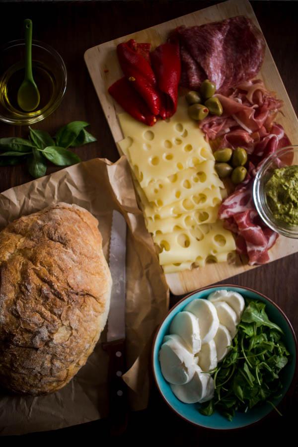 italian sandwich for a crowd 7