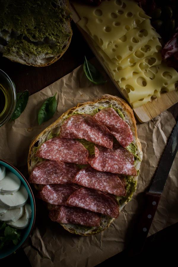 italian sandwich for a crowd 8