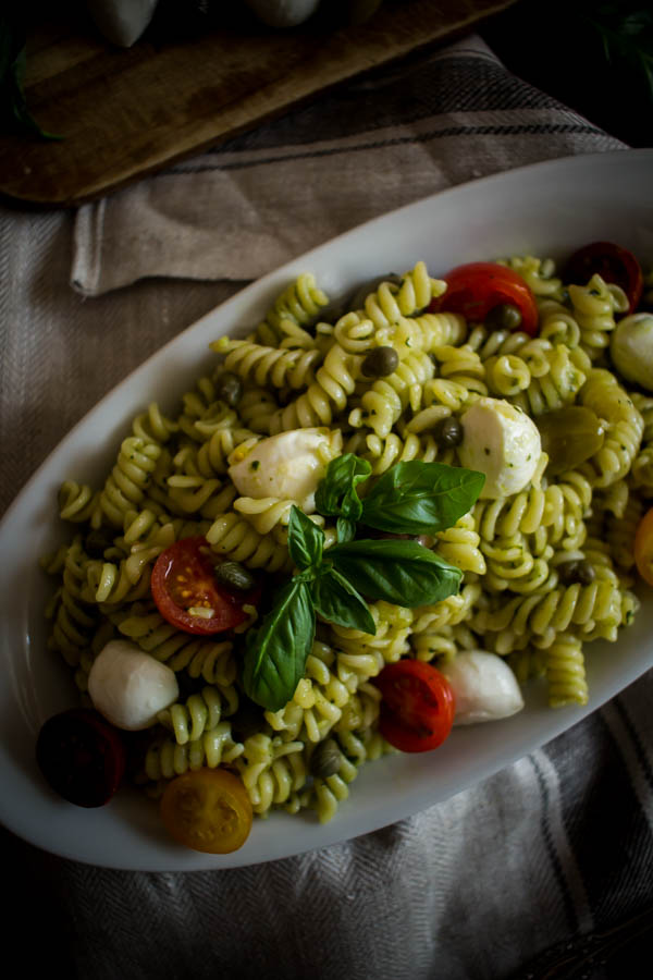 mediterranean pesto pasta salad 7
