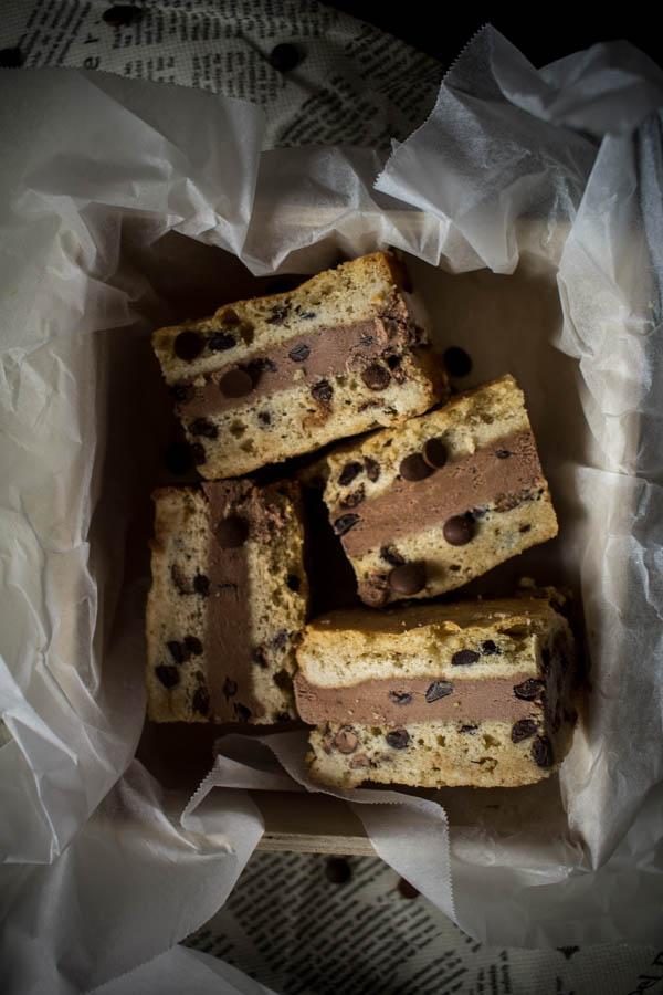 chocolate ice cream sandwich 3