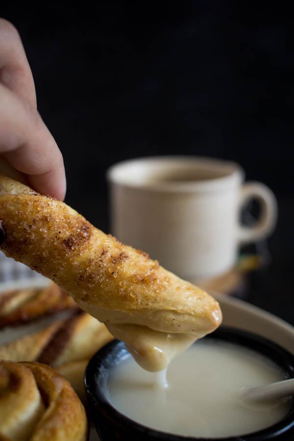 easy cinnamon rolls 6