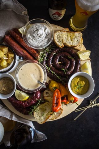 sausage beer platter 1
