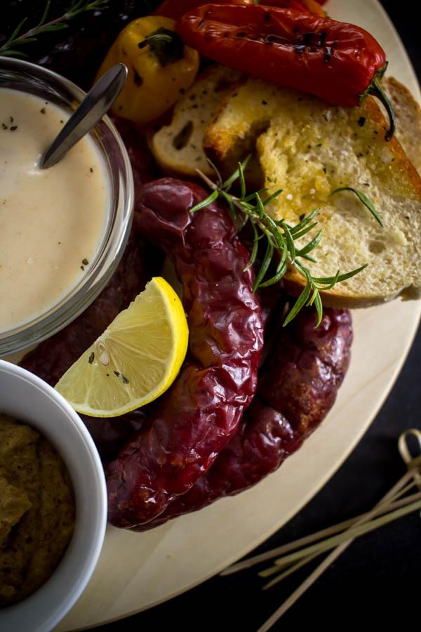 sausage beer platter 6
